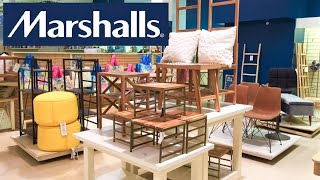 MARSHALLS FURNITURE CHAIRS TABLES CONSOLES HOME DECOR SHOP WITH ME SHOPPING STORE WALK THROUGH