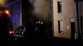 preview picture of video '(26/10/2012): Péruwelz - Incendie rue du Bas Coron (01)'