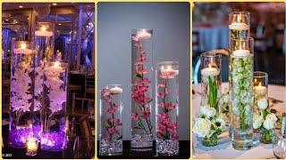 Diy Floating Wedding Centerpiece Ideas || Wedding Decoration Ideas || Flowers Candle Decor