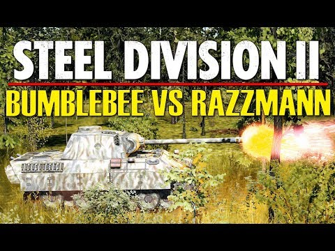 BUMBLEBEE VS RAZZMANN! Throwback Tournament, Steel Division 2 (Tsel, 1v1)