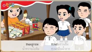 สื่อการเรียนการสอน ชวนคิดก่อนซื้อ ป.2 ภาษาไทย
