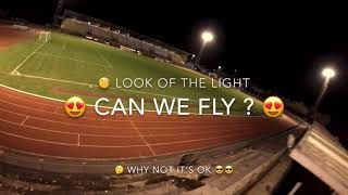 Life FPV fly. Training cinematic freestyle. Stadiums.