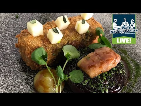Michelin star chef Paul Ainsworth cooks aged soy glazed duck & pig head fritter recipes