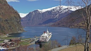 Flam Norway on The Braemar Cruise Ship - Flåm Norge