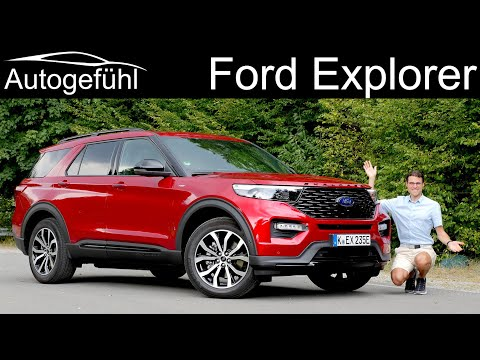 New Ford Explorer FULL REVIEW as ST-Line PHEV 2020 - Autogefühl