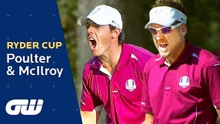 Ian Poulter And Rory McIlroy Four-Ball Highlights | Ryder Cup 2012 | Golfing World