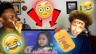 TRY TO GUESS THE AGE CHALLENGE 😳(loser has to put medicated powder in their pants)😂