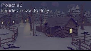 19 : Blender Import to Unity