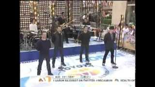 98 Degrees on The Today Show *Because of You* 8/17/12