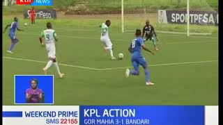 KPL Action: Gor-Mahia 3-1 Bandari