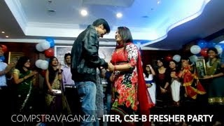 Juniors Proposing Seniors - ITER Fresher's Party