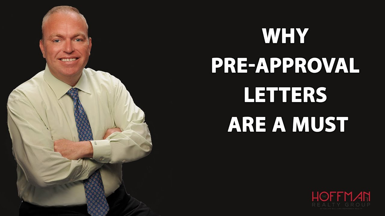 Buyers: Always Get a Pre-Approval Letter Before Submitting Offers