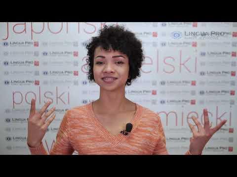 Kadr z filmu na youtube - Przymiotniki