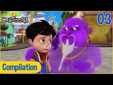 Vir: The Robot Boy   Hindi Cartoon For Kids   Compilation #3   Wow Cartoons