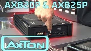 Aktivwoofer fürs Auto | Axton AXB20P und AXB25P | REVIEW | ARS24
