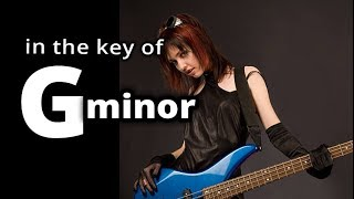 AC★DC style BACKING TRACK in G MINOR ★ Gm Hard Rock GUITAR BACKING TRACK