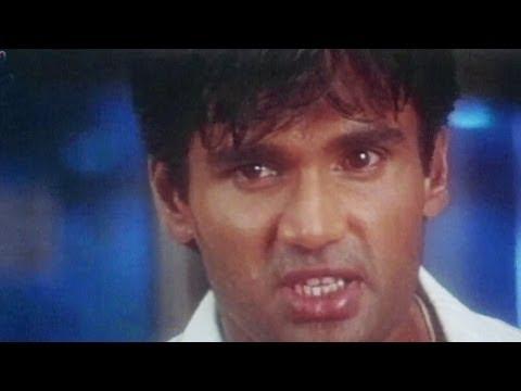 Sunil Shetty, Divya Dutta, Surakshaa - Action Scene 3/15