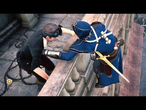 Assassin's Creed Unity 27min of Stealth Kills & Master Outfit Ultra Settings