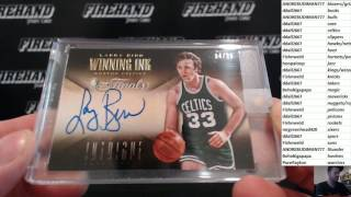 2016 Leaf Greatest Hits Basketball 2 Box Case Break RT #18 ~ 1/9/17