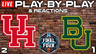 Houston vs Baylor   Live Play-By-Play & Reactions