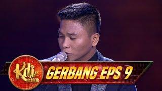 JOSS Penampilan Rangga Malam Ini Dengan Menyanyikan [CINTA HITAM] - Gerbang KDI Eps 9 (2/8)
