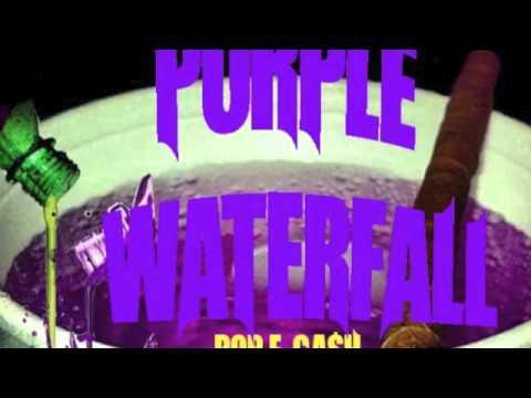 PURPLE WATERFALLS