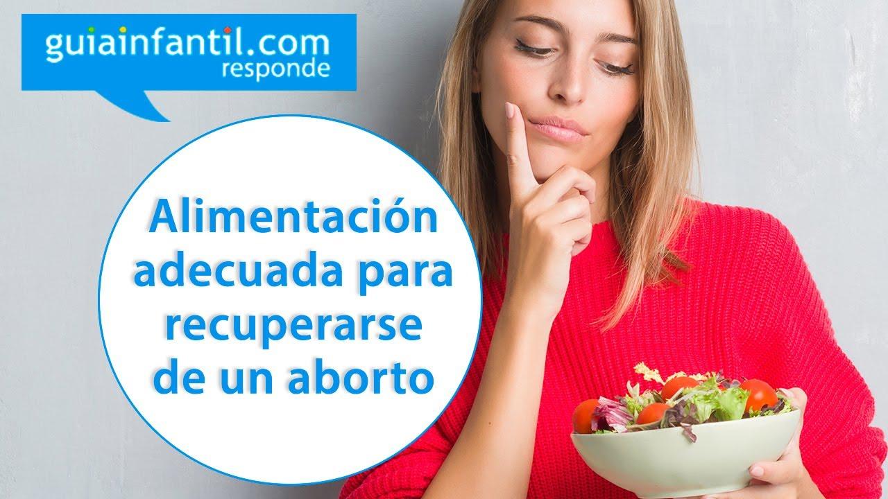 Alimentos recomendados para la mujer tras sufrir un aborto | Guíainfantil responde
