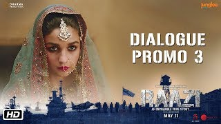 Raazi | Dialogue Promo 3 | Code Names