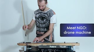 Meet NGO: Drone Machine with Strymon's TimeLine and BigSky (No looper)