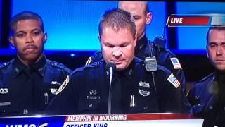 Speech by Delta Shift MPD Officer Bolton's Funeral
