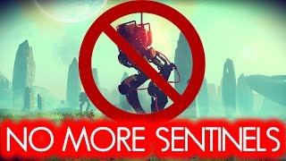 HOW TO KILL ALL SENTINELS FOR EASY PLANET FARMING - NO MAN'S SKY