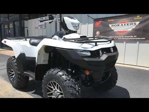 2020 Suzuki KingQuad 750AXi Power Steering SE in Greenville, North Carolina - Video 1