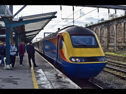 East Midlands Trains 43061 departs Carlisle with tones 26th …