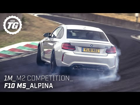 Chris Harris drives… Best of BMW: 1M, M2, Alpina, F10 M5, M2 Competition   Top Gear