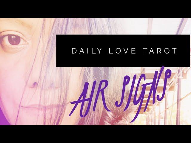AIR SIGNS   LOOKING WITH FRESH EYES   DAILY LOVE TAROT READING   Gemini  Libra Aquarius   2 6-2 7 19 - vTomb