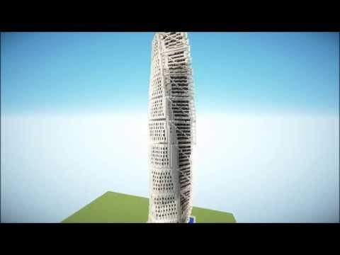 Turning Torso Minecraft Project