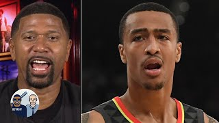 John Collins' suspension jeopardizes the Hawks' playoff hopes - Jalen Rose | Jalen and Jacoby