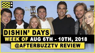 Days Of Our Lives for August 6th - August 10th, 2018 Review & After Show - Dishin' Days