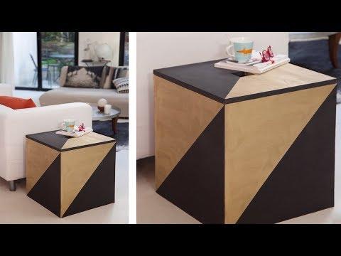 Project Tutorial: Aufbewahrungskiste aus Holz selber bauen