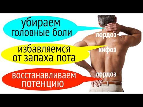 10 упражнений при сколиозе