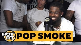Pop Smoke On The Success Of 'Welcome To The Party' + Cardi B's Shoutout