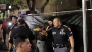 FIGHT IN EL PASO (5-4-2015 violence and language warning) be advised