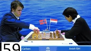 16 year old beats Carlsen in 22 moves