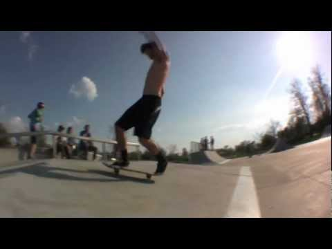 A Cosmic Day at Lake Mingo Skatepark 2012