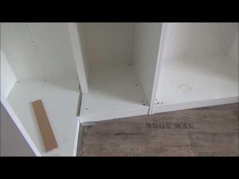 IKEA Pax Eckschrankt ändern wenn die Ecke Größer 90 Grad ist