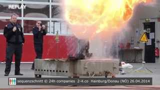 preview picture of video 'Action-Day der Freiwilligen Feuerwehr Hainburg'