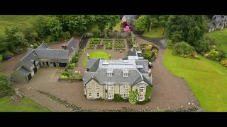 Scotland Locations - Ian Fleming & Dalness estate, James Bond's house , Skyfall  Glen Etive by drone