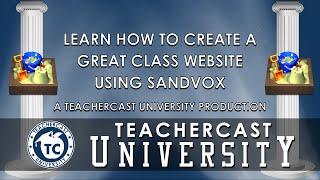 Webinar: Creating a Dynamic Website using Sandvox