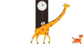 """Kinderlieder - """"Tick-tack"""", das lustige Kinderlied, um Uhr zu lernen und zum mitzählen und mitsingen"""