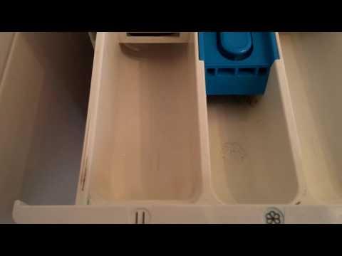 In welches Fach der Waschmaschine gehört was rein? Waschmittel, Weichspüler & Co